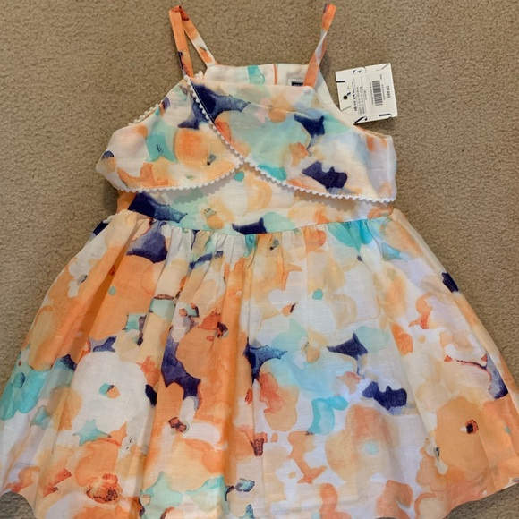 Janie and Jack Other - NWT Janie and jack Floral dress 18-24m